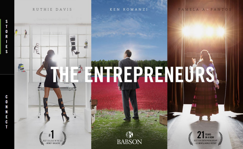 Babson College - The Entrepreneurs