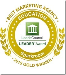 LeadsCouncil LEADER Award Best Marketing Agency 2015 Gold Winner
