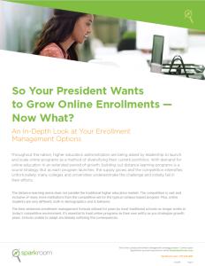 Enrollment Management Whitepaper Cover