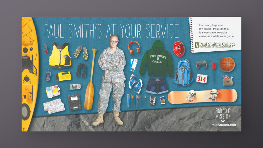 Paul Smith's College - At Your Service Ad