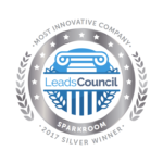 Sparkroom Silver 2017 LeadsCouncil LEADER Award - Most Innovative Company
