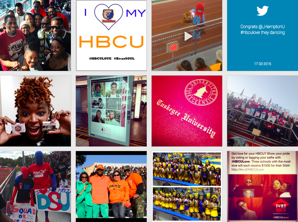 Thurgood Marshall College Fund #HBCULove Campaign