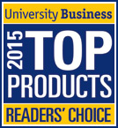 2015 University Business Readers' Choice Top Product