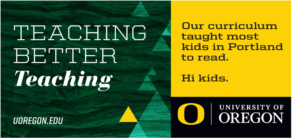 University of Oregon - Teaching Better Teaching Outdoor Execution