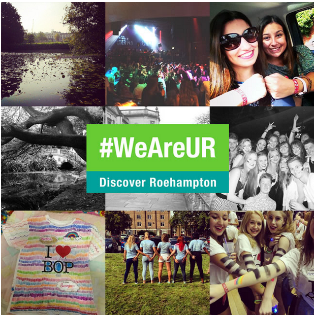 University of Roehampton #WeAreUR Campaign
