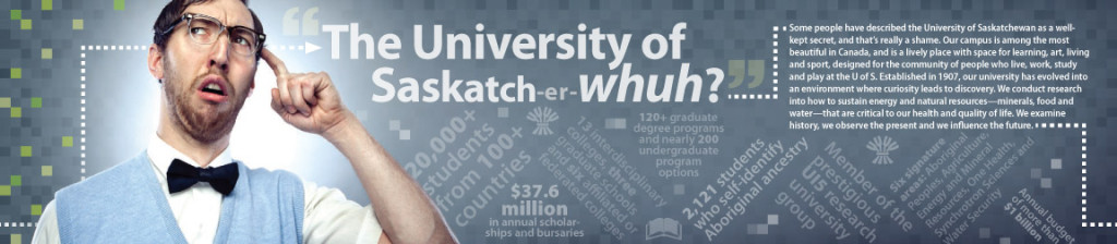 University of Saskatch-er-whuh?