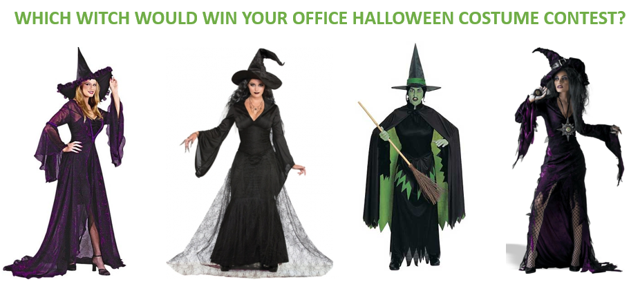 Which witch would win your office Halloween costume contest?